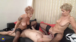Out-think mom and granny porn