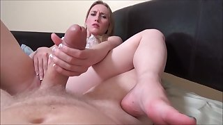 Lucky Morning Day With Exciting Breast-feed - Riley Reynolds