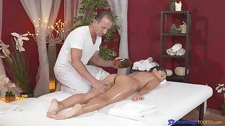 Titillating massage shag be required of superb unilluminated Shrima Malati