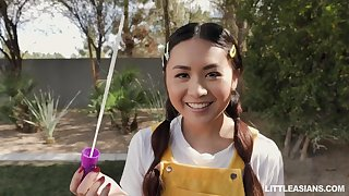 Two Little Asians Love Love Making - Elle Voneva
