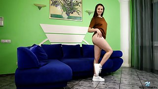 Anna Bella is a hot tease and that promiscuous teen loves masturbating