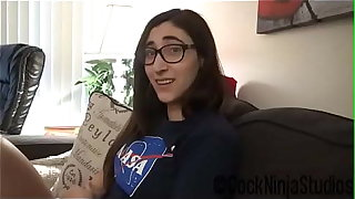 Nerdy Little Step Sister Blackmailed Into Intercourse For Trip To Spacecamp Preview - Addy Shepherd