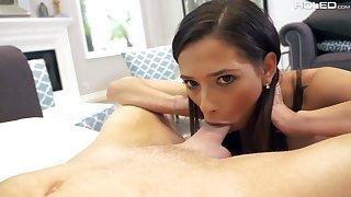 Svelte brunette Jaye Summers deserves some painful sexton anal