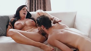 Horny nymphomaniac MILF has mating pastime with cocky dreamboat- SHOW 143